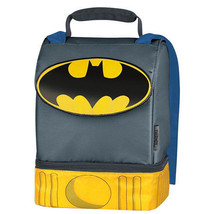 BATMAN- LUNCHBOX WITH CAPE INCLUDES A SANDWICH BOX! - $18.11
