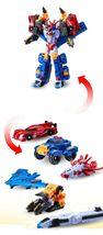 Tobot Mini Master V Transformation Action Figure Toy Robot image 3