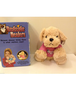 Bedside Healers Plush Dog Stuffed Toy Beige with Pink Shirt - $39.99