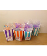 Handmade Handcrafted Stone Soap Guest Gift set. Lot of 8 bags - $15.83