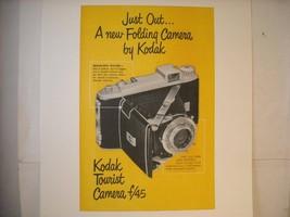 Vintage Kodak Camera Ad Reprint Poster