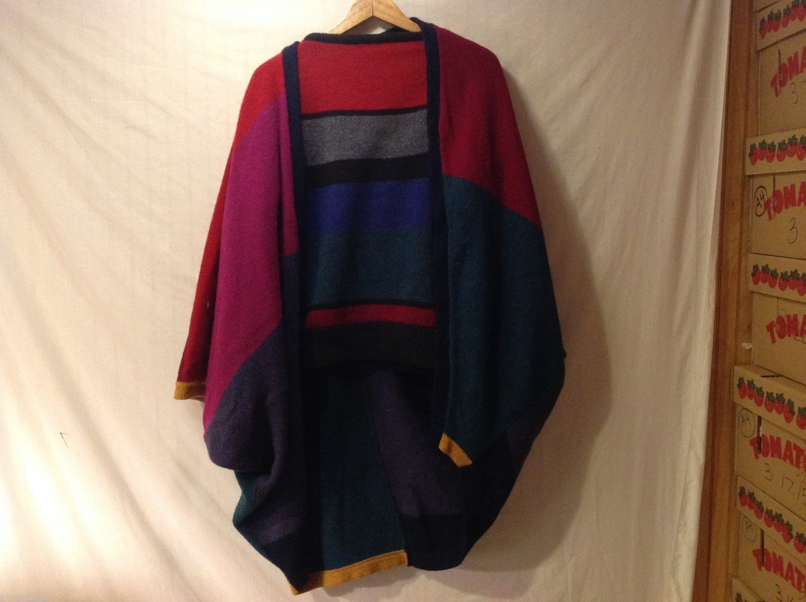 Womens Clare Schilsk Two Piece Sweater and Shawl, Made in Scotland