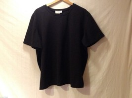 Womens Liz & Me Black Short Sleeved Shirt,See measurements for size