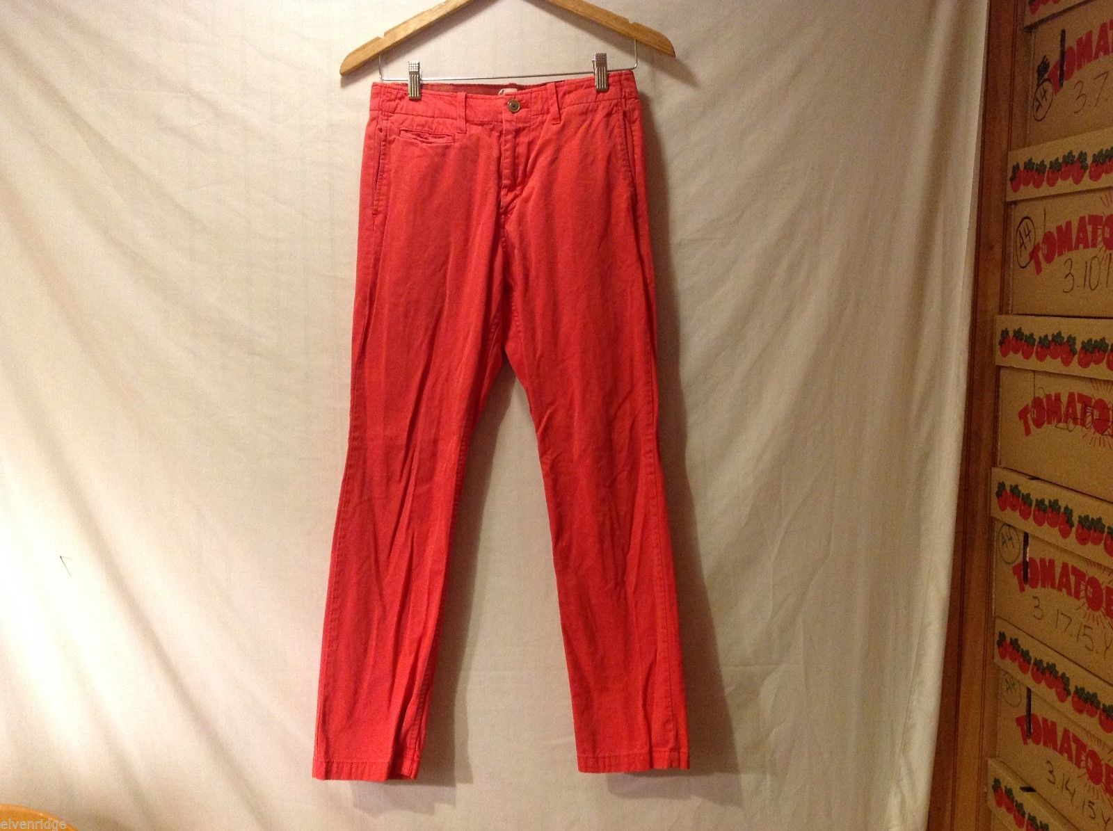 Women's GAP Salmon Colored Jeans, Size 29W/30L