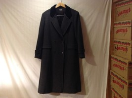 Womens Karen Gray Long Dress Coat, see measurements for size