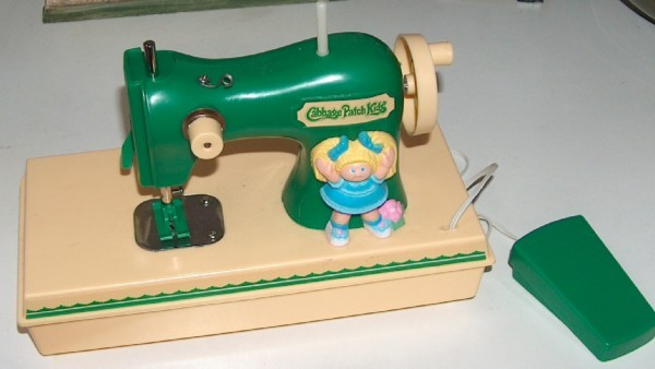 Cabbage Patch Kids Toy Sewing Machine And 40 Similar Items Simple Sewing Machine For Patches