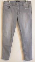 White House | Black Market 570126439 Saint Honore Grey Skinny Jeans Women: 12 R - $48.39