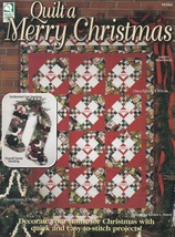 Quilt a Merry Christmas, House of White Birches Quilting Pattern Booklet... - $5.95