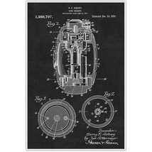 Weapons Patent Print, Grenade Patent Blueprint , Weapon Photo Art - $11.39+