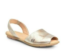 BORN Trang Slingback Comfort Sandals Gold sz 10 M - $28.84