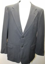 Classic Valentino UOMO Men Blazer 100% Wool 2 Buttons Lined 42R - $50.62