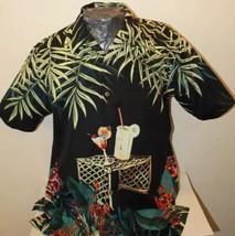 Bill Blass Men's Cool Summer Hawaiian Medium Shirt - $16.84