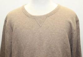 Eddie Bauer Men Sweater Camel Brown Sz XXL 100% Lambs Wool Mauritius - $55.74