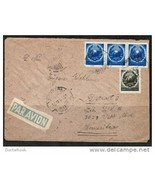 """ROMANIA 1951 AIRMAIL COVER TO """"Detroit, USA"""" ( 10 MA 51 ) (Cover-88) - $3.91"""