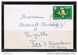 SWITZERLAND Switzerland 1959 Mourning Cover (Cover-25) - $3.91