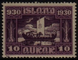 ICELAND Scott # 155* VF MINT LH (10104593) - $3.22