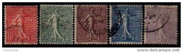 FRANCE Scott: # 138-54 F-VF USED  (25552504) - $7.43