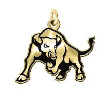 Buffalo Bulls 14K Gold Logo Cut Out College Charm - €107,43 EUR