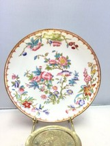 "Antique Minton Fine Bone China Hand Painted Floral 5 3/4"" Saucer/Vegetab... - $29.35"