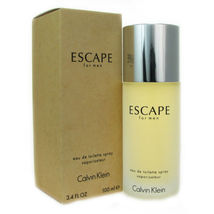 ESCAPE by Calvin Klein Cologne 3.4 oz New in Box Sealed - $39.95