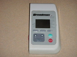 Breadman bread machine Control Panel TR2200 (4-rivet only) - $28.04
