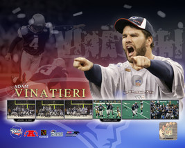 Adam Vinatieri Super Bowl 36 Patriots 8X10 Football Color Memorabilia Photo - $4.99