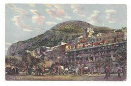 Prudential Insurance Co Gibraltar Casemates Square 1913 Advertising Post... - $5.69
