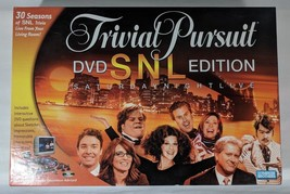Trivial Pursuit DVD SNL Edition board game complete - $25.00