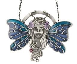 Art Nouveau Fairy Pendant - $18.00