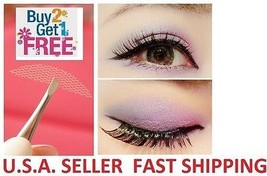 L1#: 240 Pieces--Invisible Fiber Lace Double Eyelid Tapes  FREE SHIPPING - $8.99