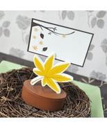 Leaf Place Card Favor Boxes with Designer Place Cards (set of 72) - $145.95