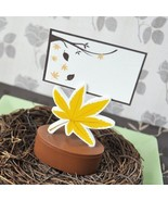Leaf Place Card Favor Boxes with Designer Place Cards (set of 24) - $55.95