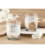 Lace Glass Tealight Holder (pack of 24) - $59.95