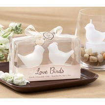 Love Birds White Bird Tea Light Candles (10 Boxes = 10 Bird Pairs) - $44.95