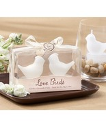 Love Birds White Bird Tea Light Candles (20 Boxes = 20 Bird Pairs) - $67.95