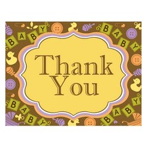 Thank You Cards - Baby Blocks (pack of 20) - $24.99
