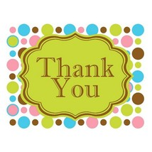 Thank You Cards - Polkadots (pack of 20) - $24.99