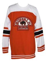 Buffalo bisons retro hockey jersey orange   1 thumb200