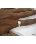vintage antique tribal old silver Ring Crystal Gemstone ring gift - $88.11