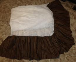 Chaps Ralph Lauren Polo Summerton Queen Size Bedskirt Houndstooth Plaid - $64.35