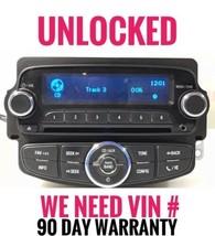 UNLOCKED 2012 Chevrolet Sonic CD Radio AM FM Aux Player OEM 95179051  GM886 - $160.25