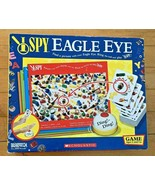 'I Spy Eagle Eye' Scholastic Board Game, Briarpatch Inc., Ages 5+   No Bell - $3.95