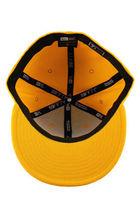 Dissizit! Mens Yellow English DX Bones Detroit New Era Fitted Baseball Hat Cap image 6