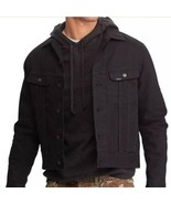 Polo Ralph Lauren Black Denim Trucker Jean Jacket NWT Men's Size Small - $140.25