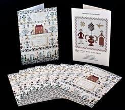 Sampler Card: Ann Forfitt 1812 cross stitch Han... - $2.20