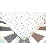 Little Moose by Liza Handmade Sheet Made to Fit Moses Basket in White Gr... - $27.12
