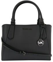 Michael Kors Satchel Top Handle Heather Grey Leather Kimberly Bag RRP £345 - $326.91
