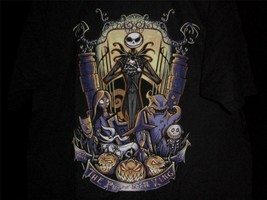 "TeeFury Nightmare LARGE ""King of the Pumpkin Patch"" Before Christmas BLACK - $13.00"
