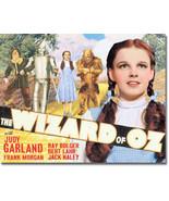 Yellow Brick Road Scarecrow Tin Man Cowardly Lion The Wizard of Oz Metal... - $18.95
