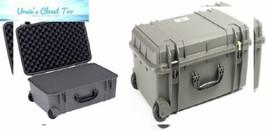 Seahorse 920 Protective Wheeled Case with Foam Gun Metal Gray  - $170.46